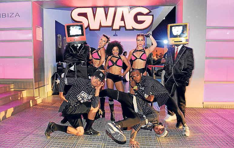 Los ritmos urbanos son de Swag