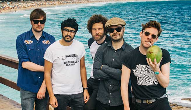 Kaiser Chiefs, en concierto esta tarde en Ibiza Rocks