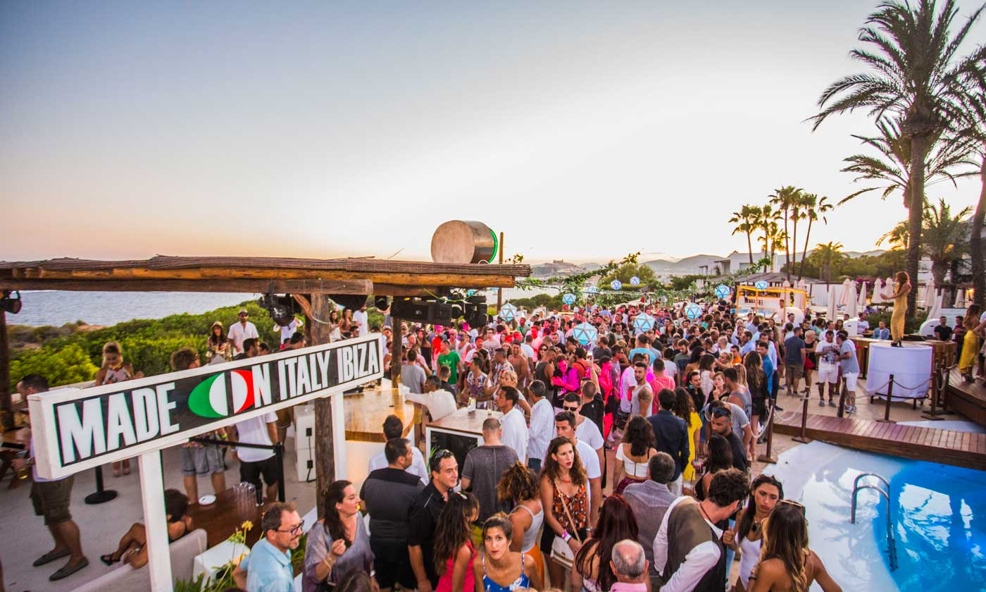 Destino Ibiza Pachá Resort | Brillante aniversario de Made in Italy