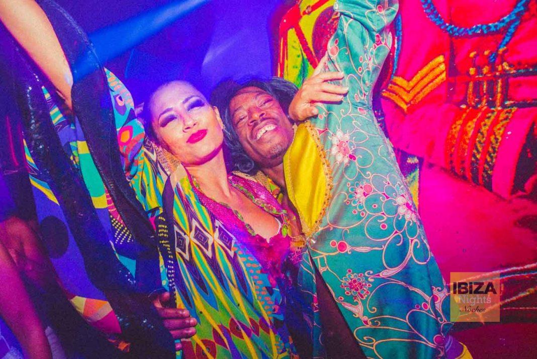 Una de las fiestas más coloridas de Ibiza.