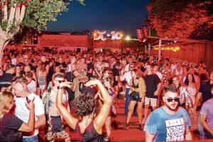 La discoteca DC10 es un referente a nivel mundial de la música techno. Foto: Aisha Bonet