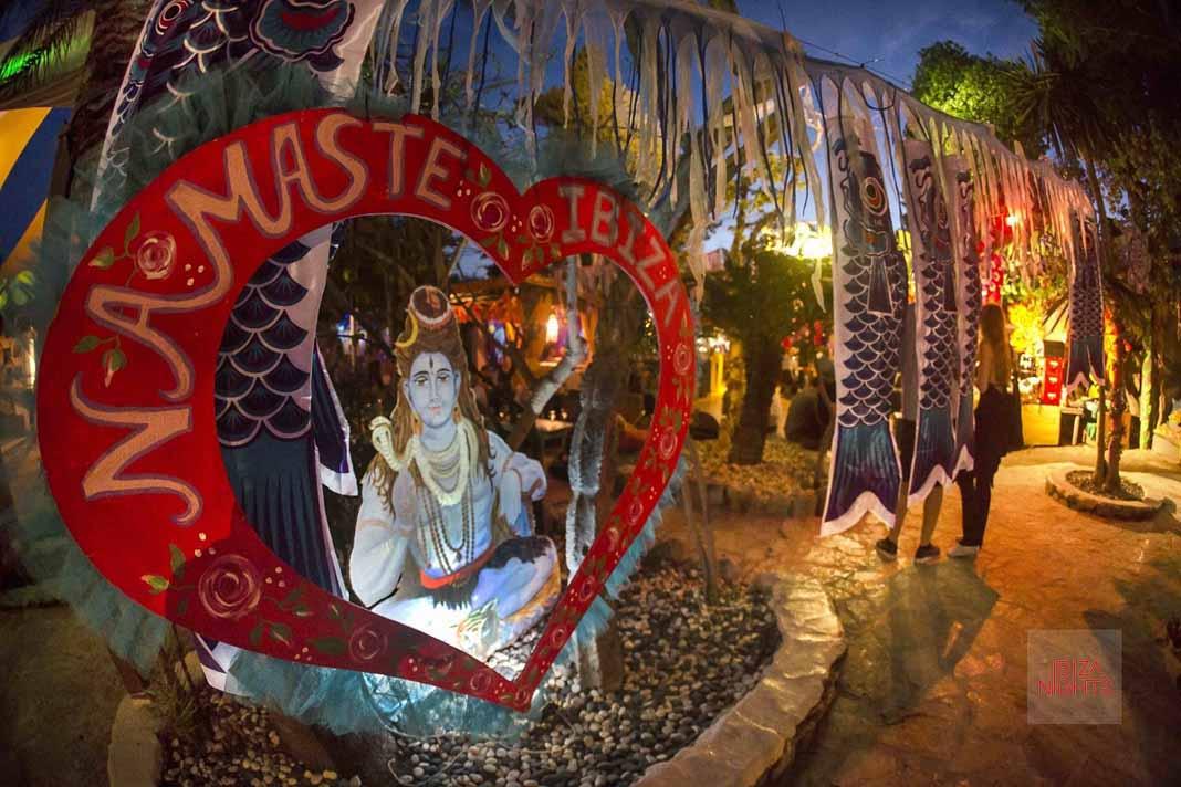 Vuelve Namaste a Las Dalias Ibiza