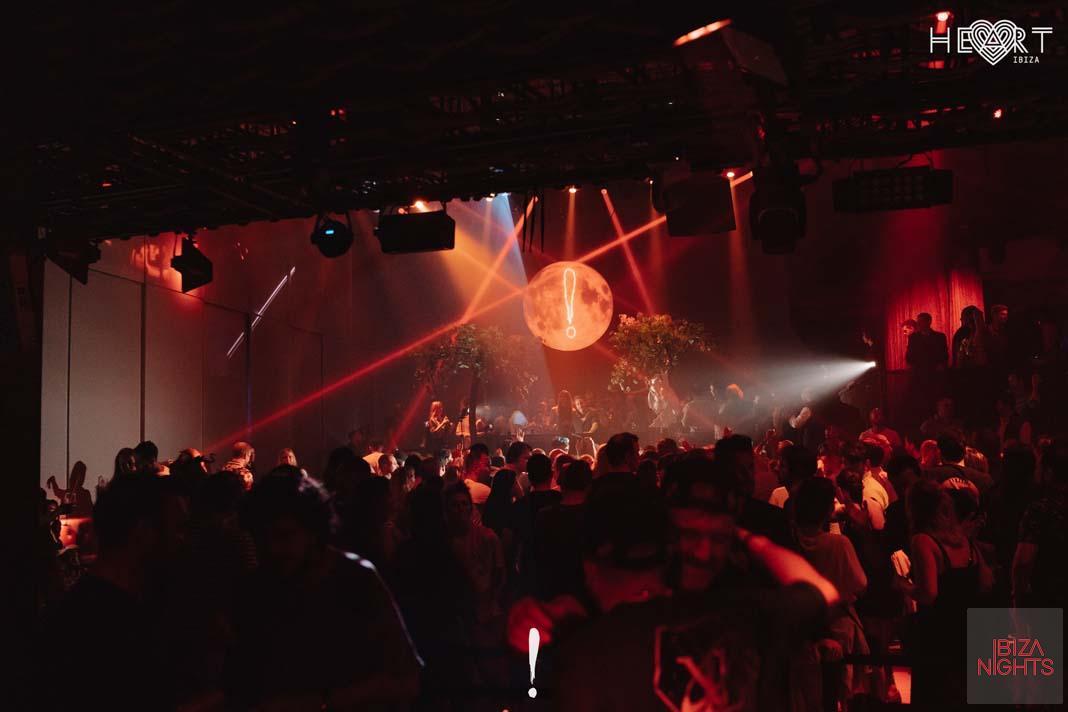 La locura se apodera de Heart Ibiza cada viernes en B!crazy. Fotos: Mario Pinta