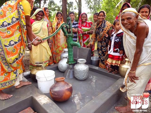 Wax Da Jam y Las Dalias de Ibiza recaudan fondos para construir pozos de agua potable en Asia y África