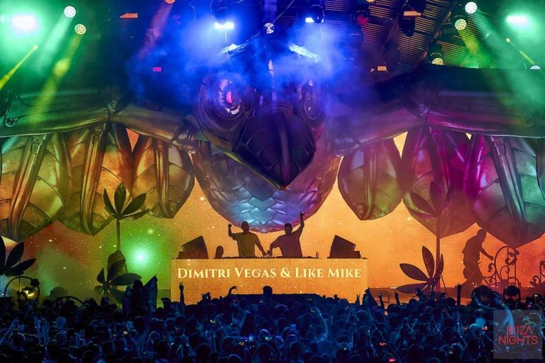 Dimitri Vegas y Like Mike en el último Tomorrowland de la temporada