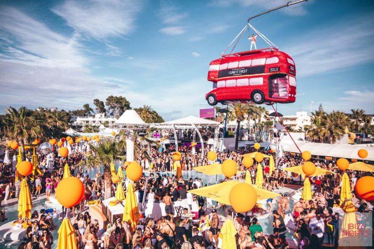 Última 'pool party' del verano en O Beach Ibiza